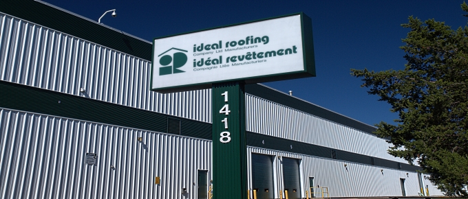 Ideal Roofing Sign